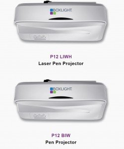 2 of 5 choices for Projectors
